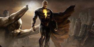 Dwayne Johnson as Black Adam concept art
