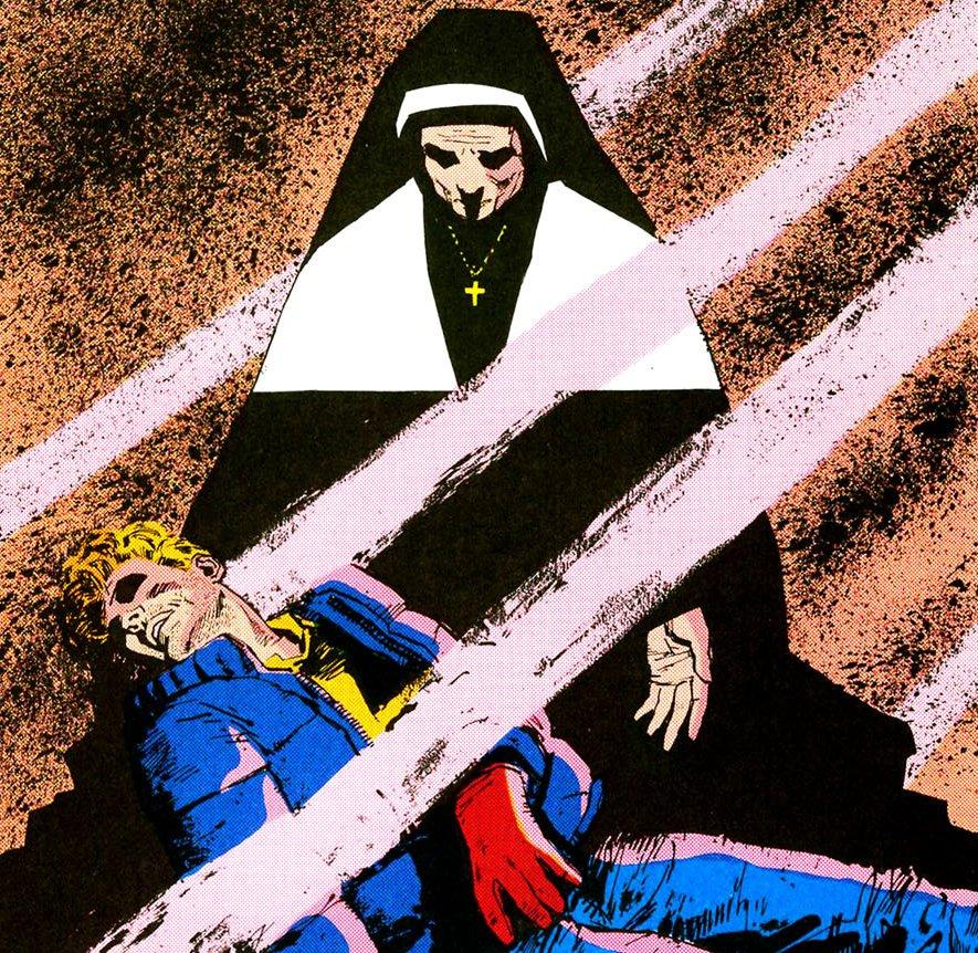 Frank Miller Sister Maggie David Mazzucchelli Daredevil Born Again