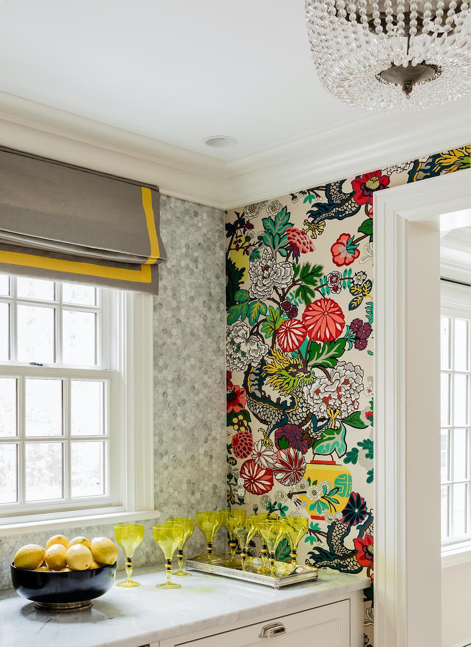 9 kitchen wallpaper ideas – modern designs to update your cooking ...