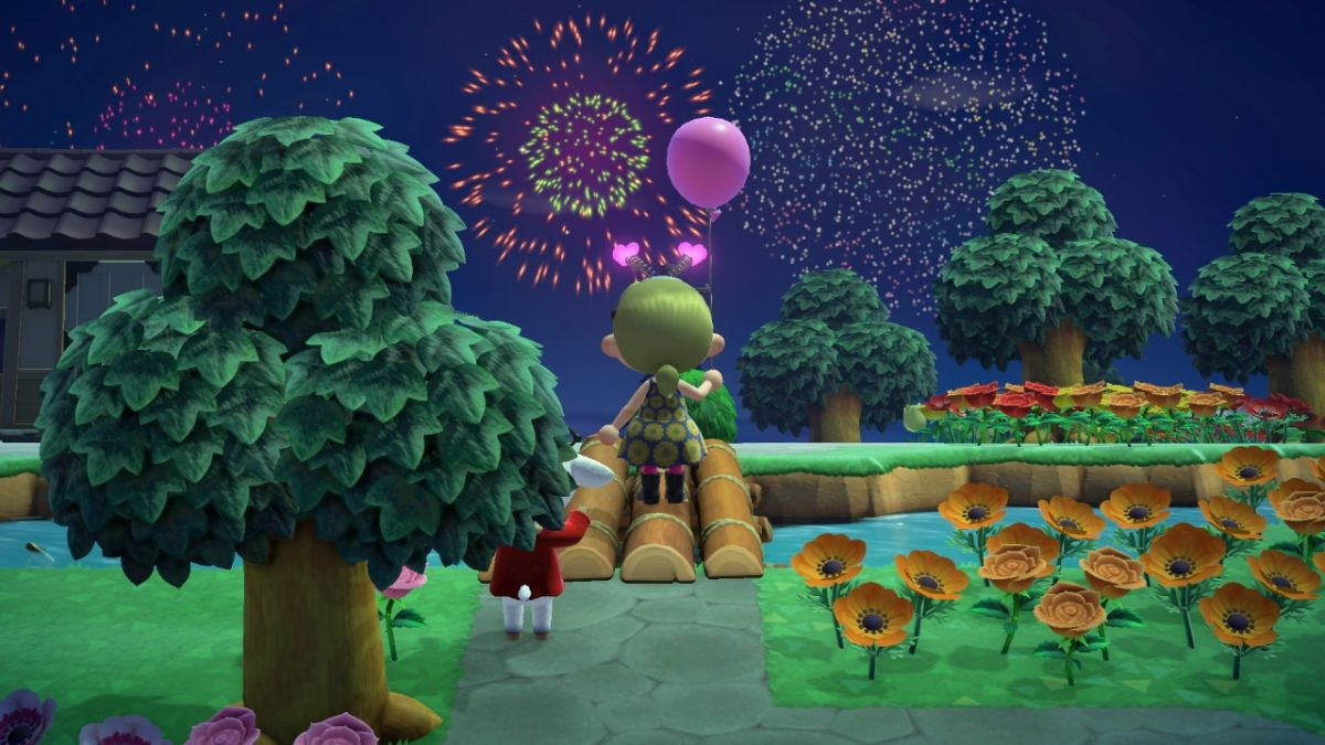 Here's Animal Crossing: New Horizons fireworks work - GamesRadar+ AU
