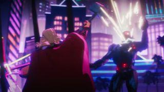 Thor et Ultron dans Marvel's What If... ? épisode 7