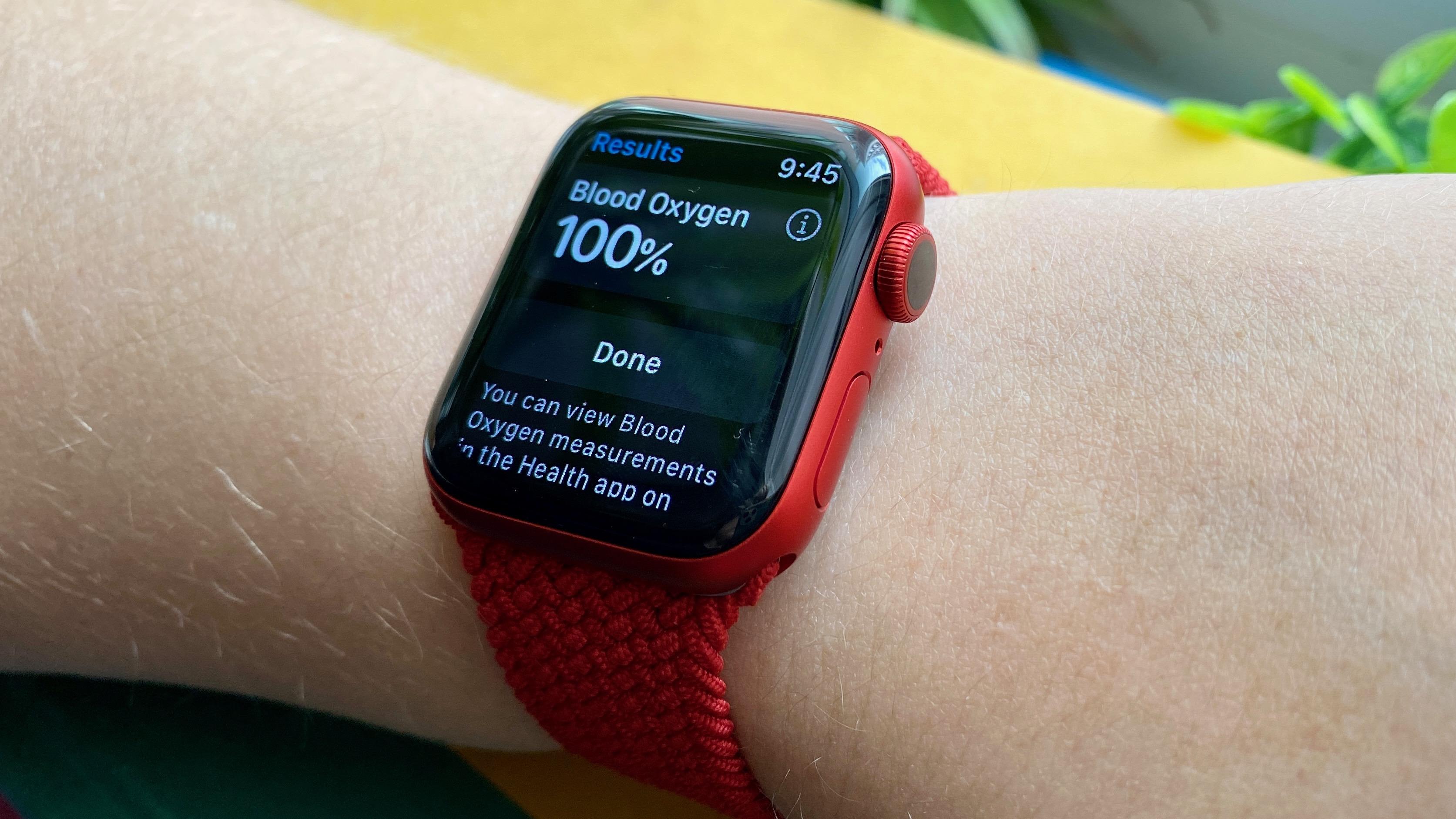 apple watch blood oxygen app