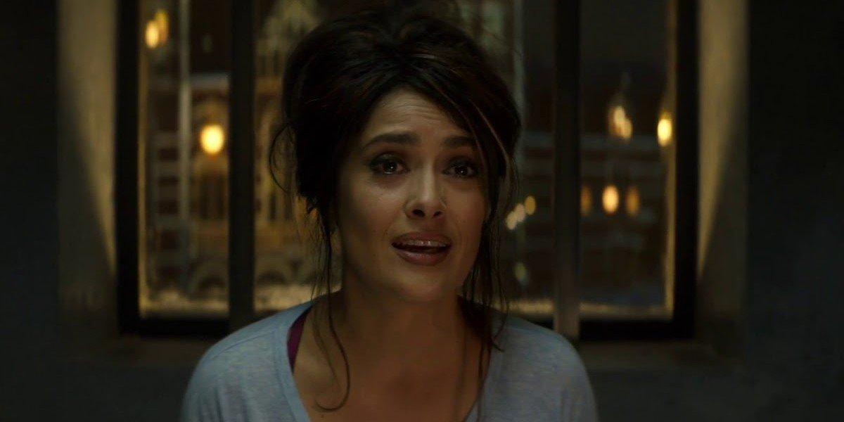 Salma Hayek as Sonia Kincaid in The Hitman's Bodyguard (2017)