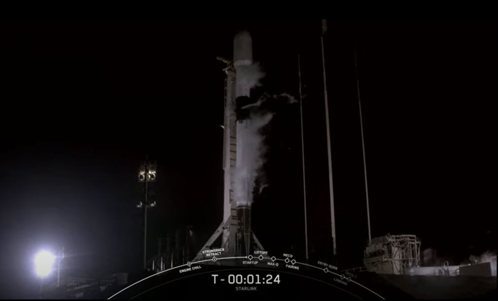 SpaceX aborts launch of Falcon 9 rocket carrying Starlink satellites