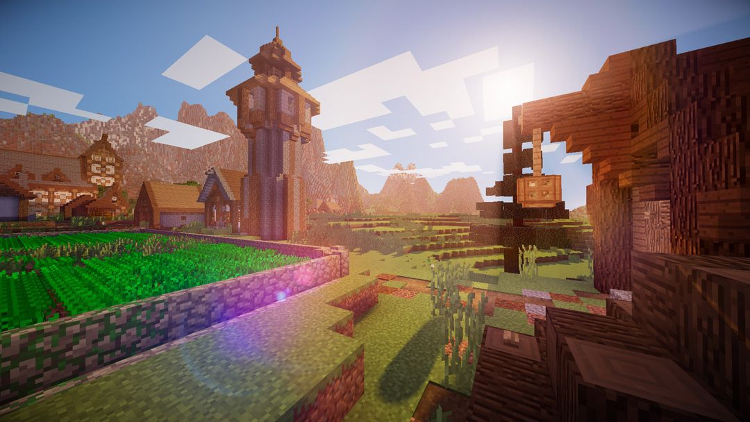 The Best Minecraft Shaders Pc Gamer