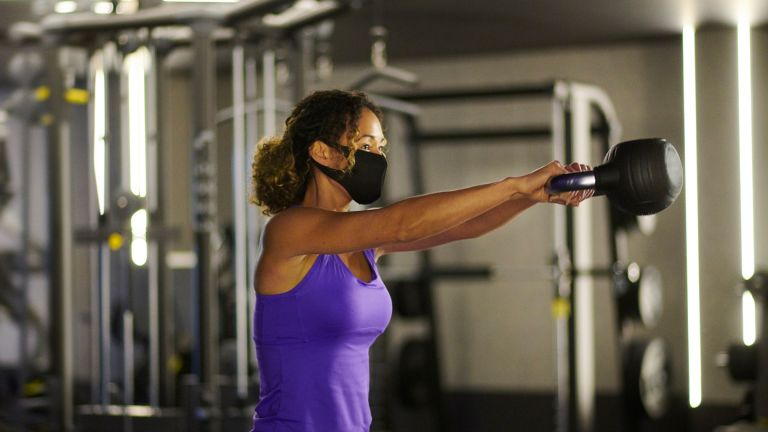 Working out with gym equipment safely