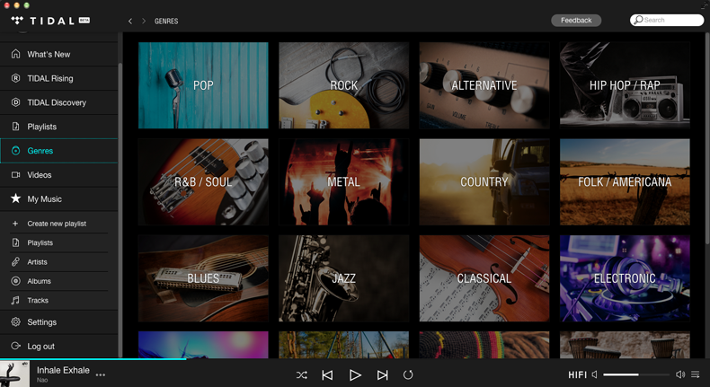 Want the best Tidal sound quality? Use the desktop app
