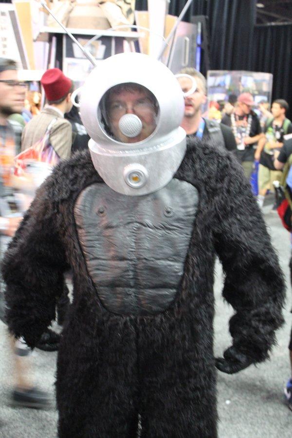 SDCC costume gorilla