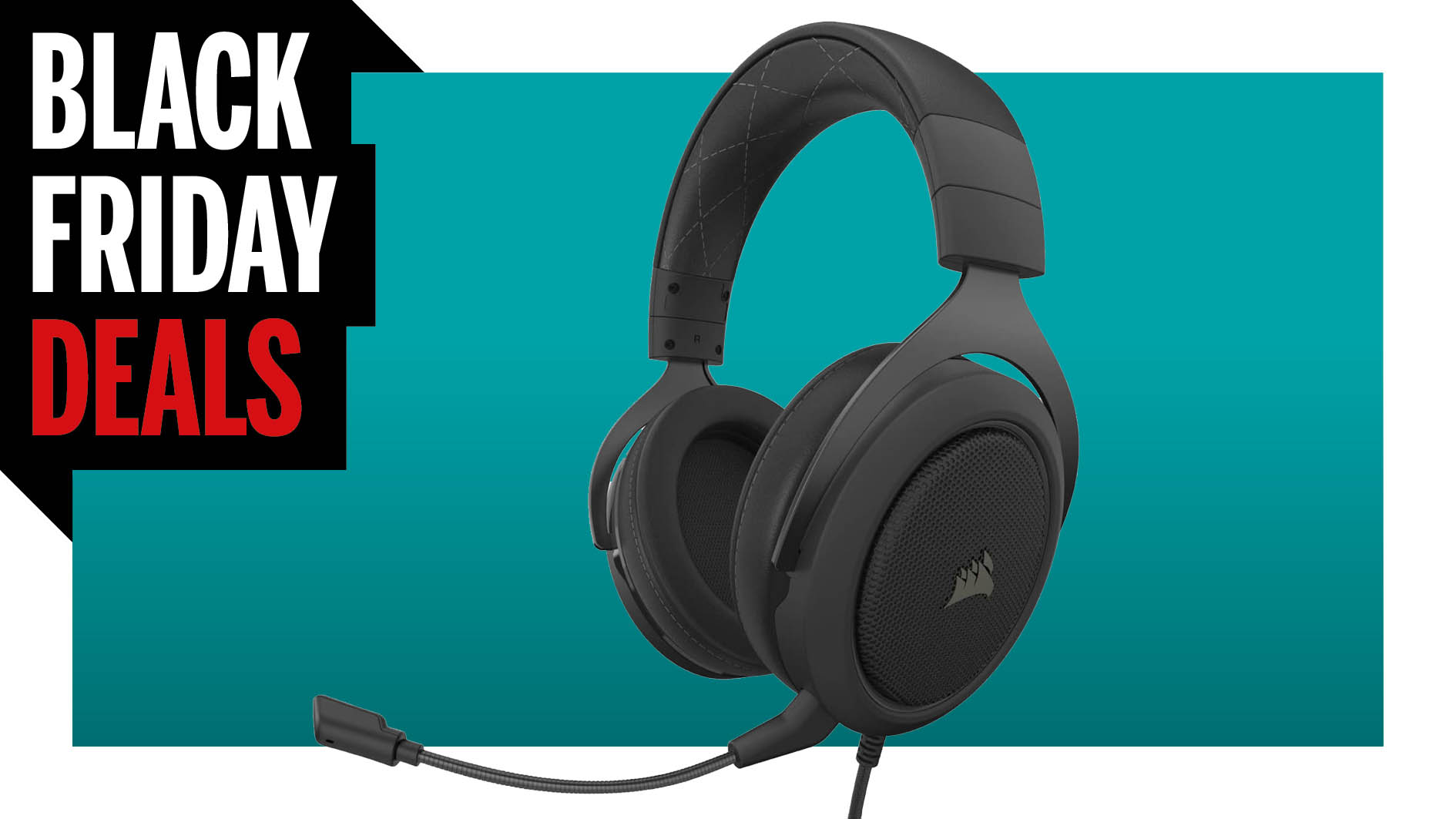 The Corsair HS60 Pro for $40 is an incredible Black Friday gaming headset deal