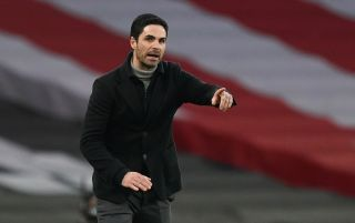 Arsenal manager Mikel Arteta has urged his players to thrive under pressure