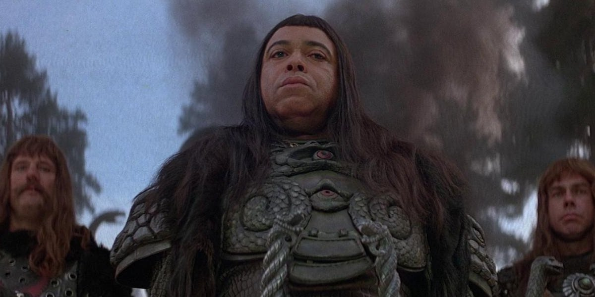 James Earl Jones in Conan the Barbarian