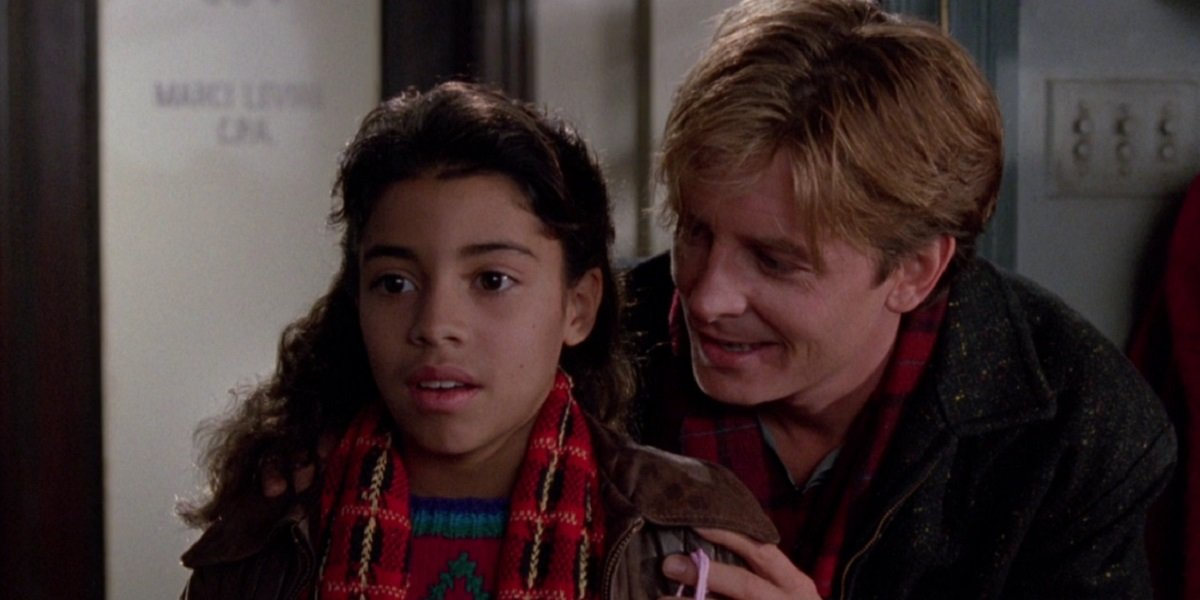Christina Vidal and Michael J. Fox in Life with Mikey
