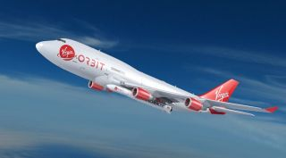 Virgin Orbit plane