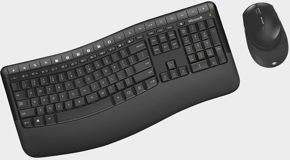 Score an ergonomic wireless keyboard and mouse combo for under $20
