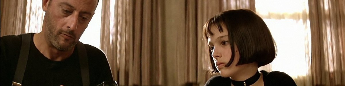 Leon and Mathilda in The Professional