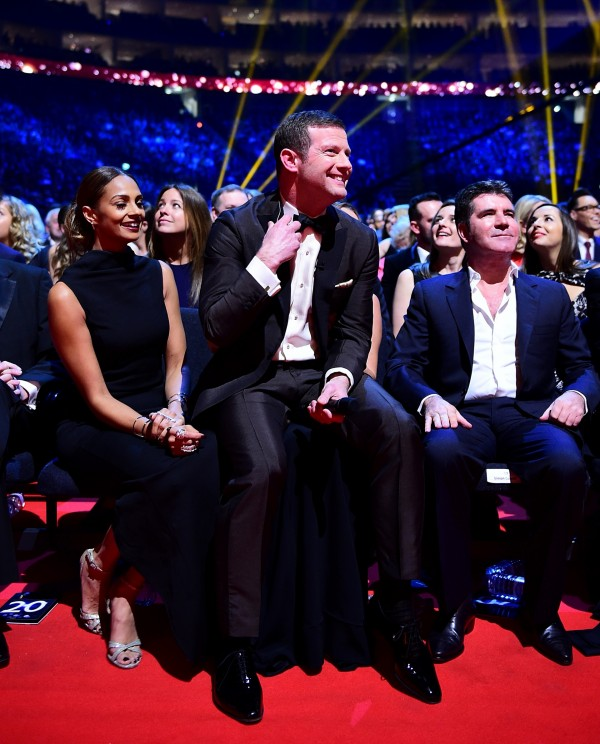 Dermot O'Leary hosting the NTAs - and visiting Simon Cowell and the Britain's Got Talent presenting team