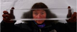 Ice core from Greenland