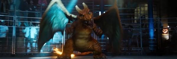 Charizard in Detective Pikachu movie