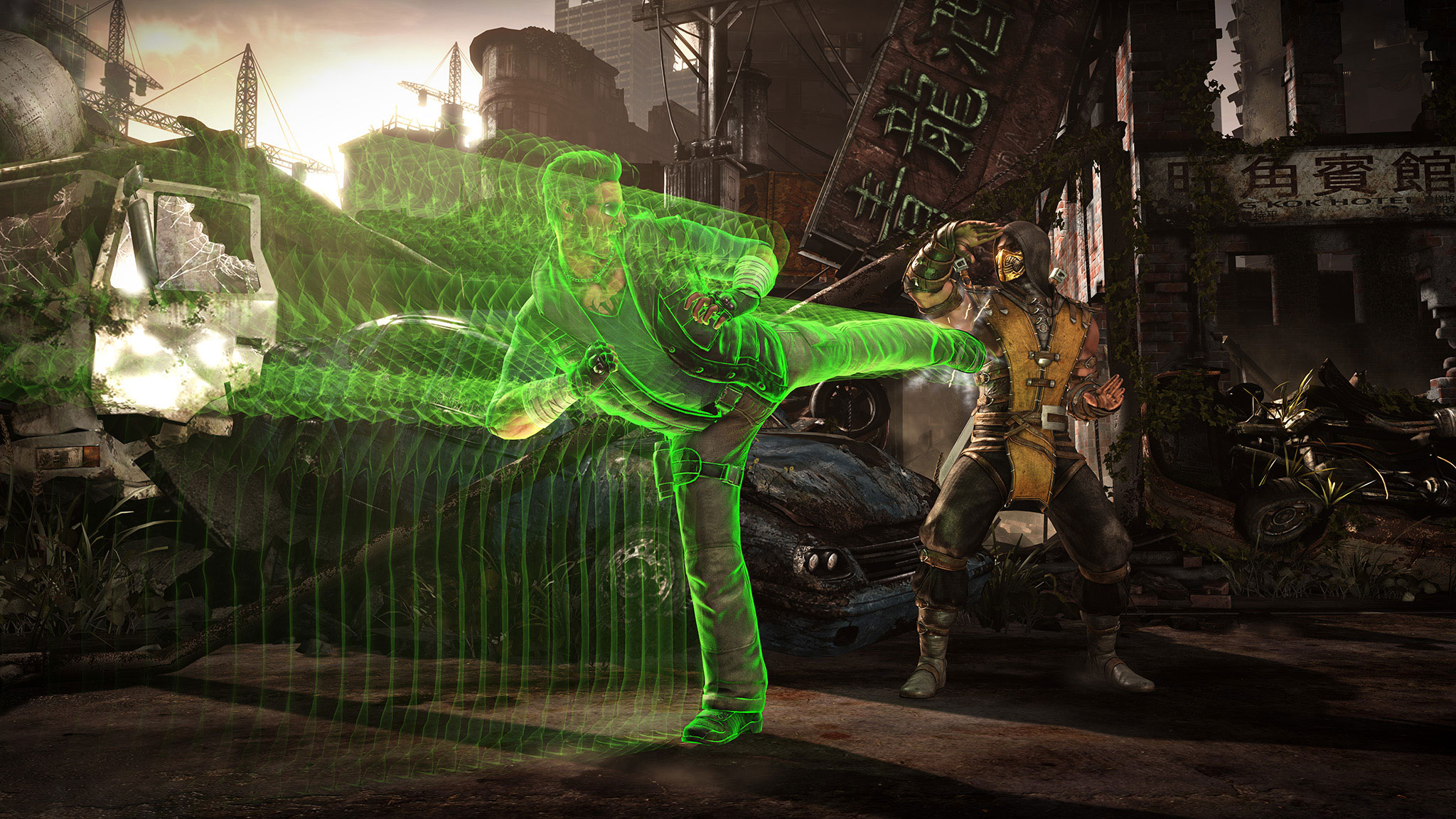 Mortal Kombat X Johnny Cage And Sonya Blade Trailer Sneaks In A Third Character Reveal #32633