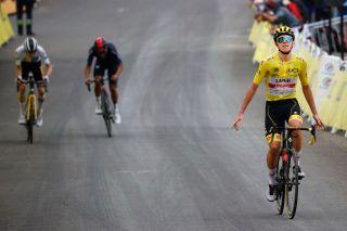 Tour de France leader Tadej Pogacar wins stage 18 at Luz Ardiden