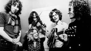 Fairport Convention with Richard Thompson (left) and Sandy Denny (bottom)