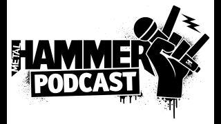 A metal hammer podcast logo