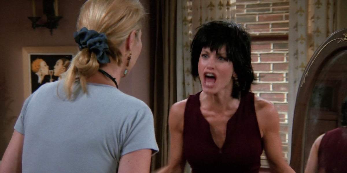Friends Monica I know Phoebe Dudley Moore haircut Demi Moore