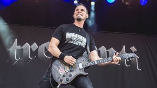 Mark Tremonti performs live