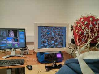 Eye-tracking and EEG experiment