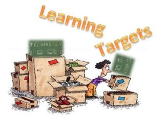 Beyond the Technology Shine, Part 4: Learning Targets Plus 10 Great Lesson Plan Resources