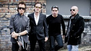 A promotional picture of Black Country Communion