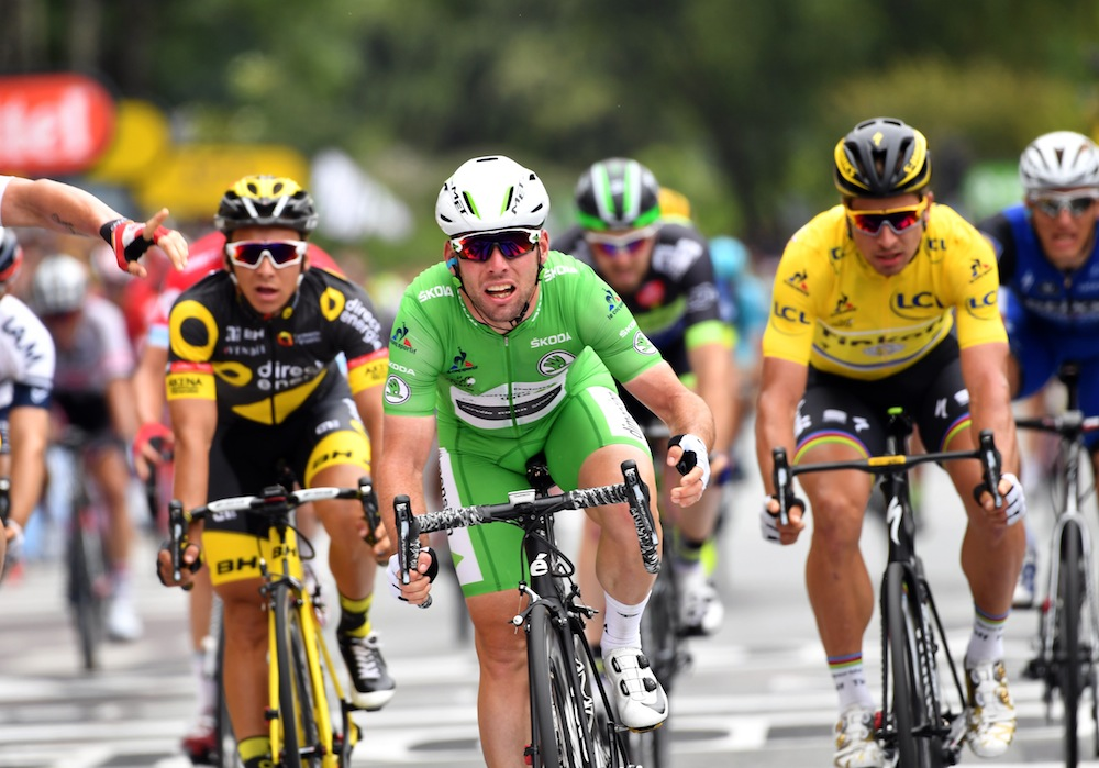 Mark Cavendish Takes Win Number 28 On Tour De France Stage