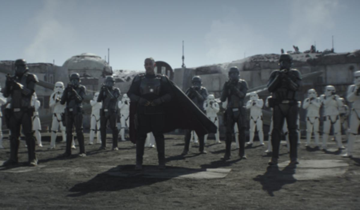 the mandalorian moff gideon death troopers storm troopers disney+
