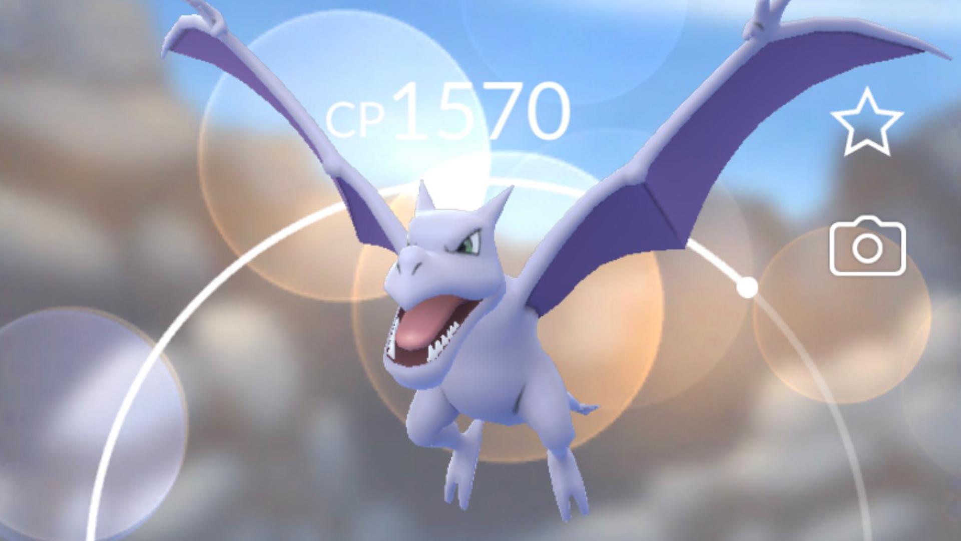 How to get an Aerodactyl in Pokemon Go | GamesRadar+