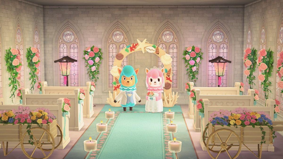 All The Animal Crossing New Horizons Wedding Season Rewards And