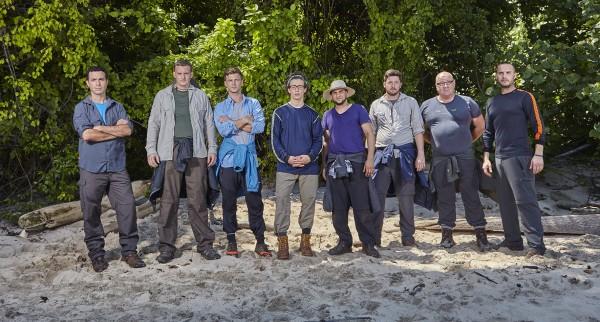 The men - Daniel, Simon, Elliot, Patrick, Rizwan, Ben, chris and Rob