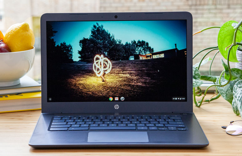 Hp Chromebook 14 Amd Full Review And Benchmarks Laptop Mag