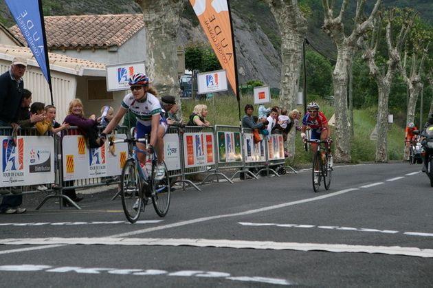Tour de l Aude stage 6 Sharon Laws