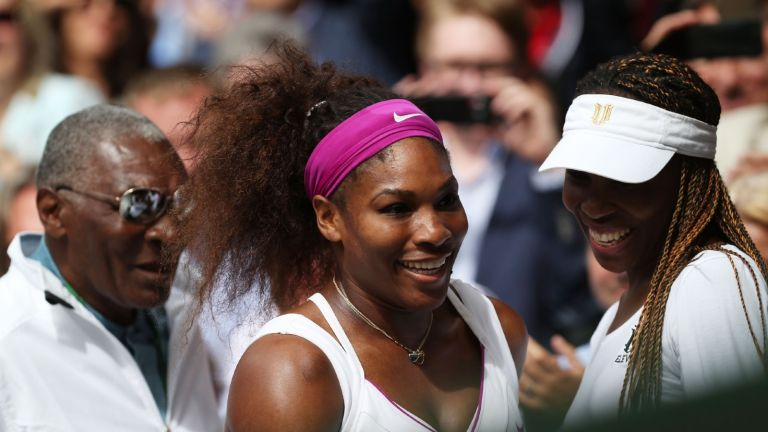 Richard Williams Serena WIlliams Venus Williams