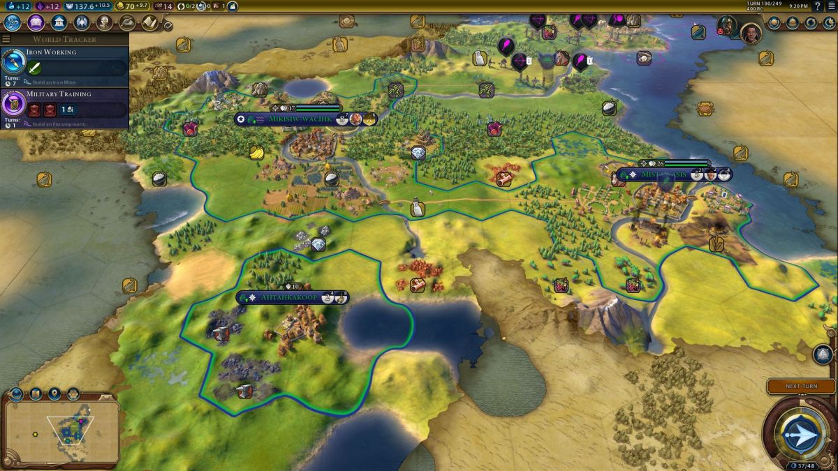 150 turns with Civilization VI: Rise and Fall reveals a complex, broad expansion | PC Gamer