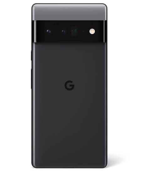 Pixel 6 Pro in Stormy Black