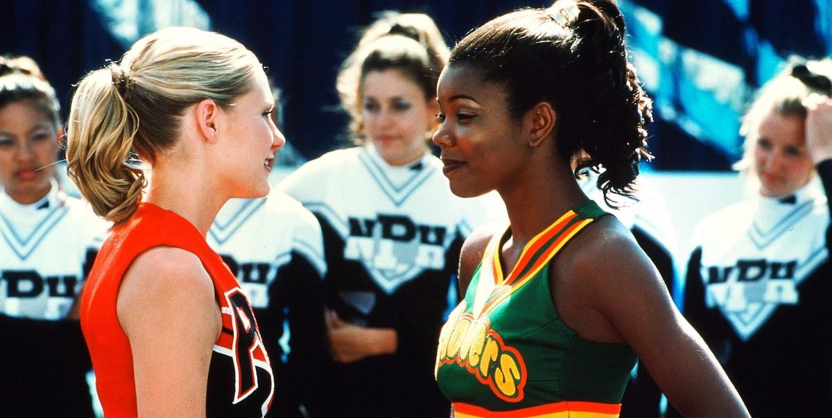 Kirsten Dunst and Gabrielle Union in Bring it On