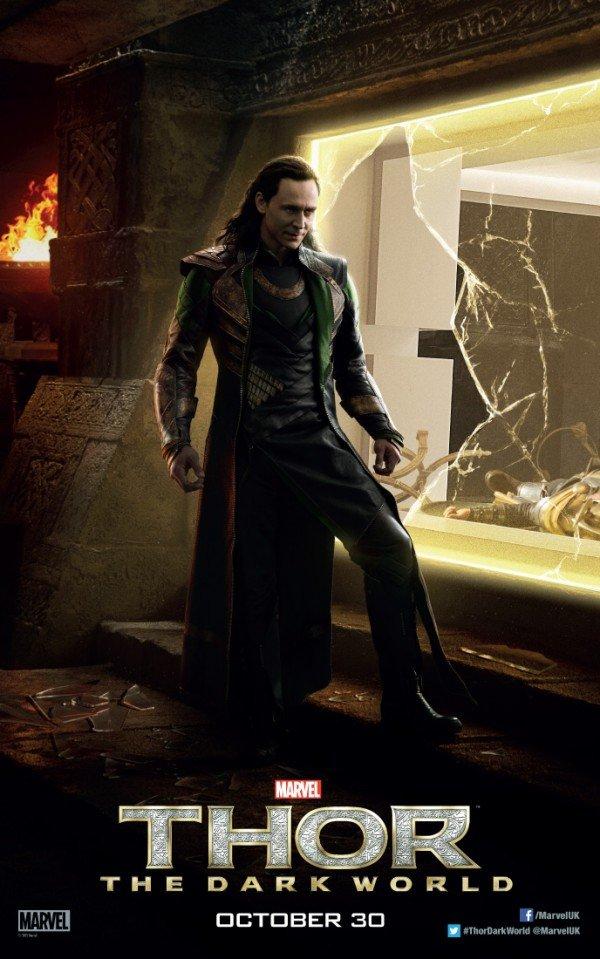 Thor 2 Loki Poster