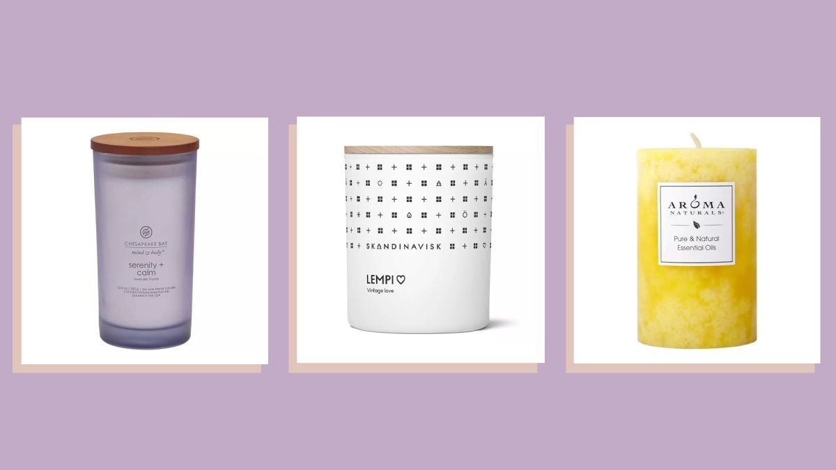 Best aromatherapy candles with powerful, aromatic scents to help you unwind