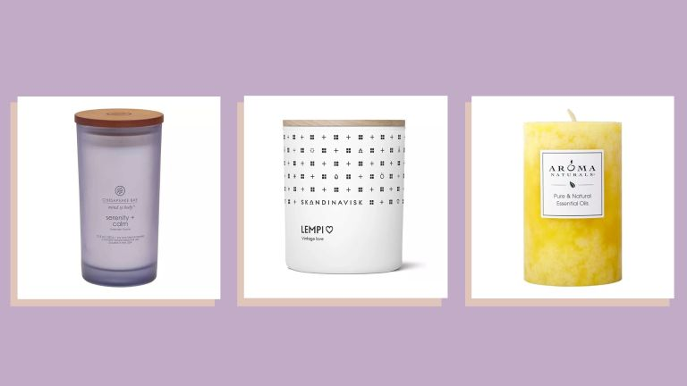 aromatherapy candles lineup of products
