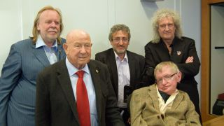 Rick Wakeman, Alexey Leonov, Garik Israelian, Brian May, Stephen Hawking