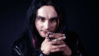 Dani Filth looking at the camera