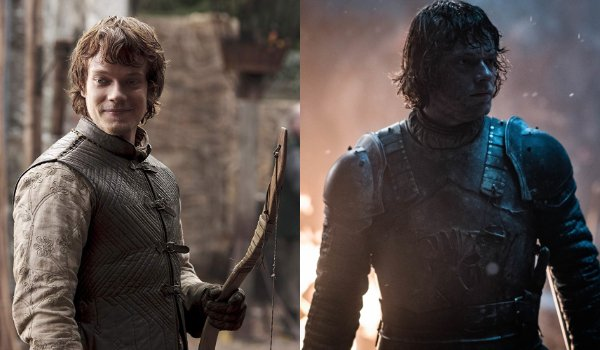 Game of Thrones Theon Greyjoy Then and Now