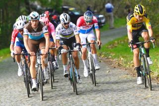 Tour of Flanders 2020 Alaphilippe Van Aert Van der Poel Naesen