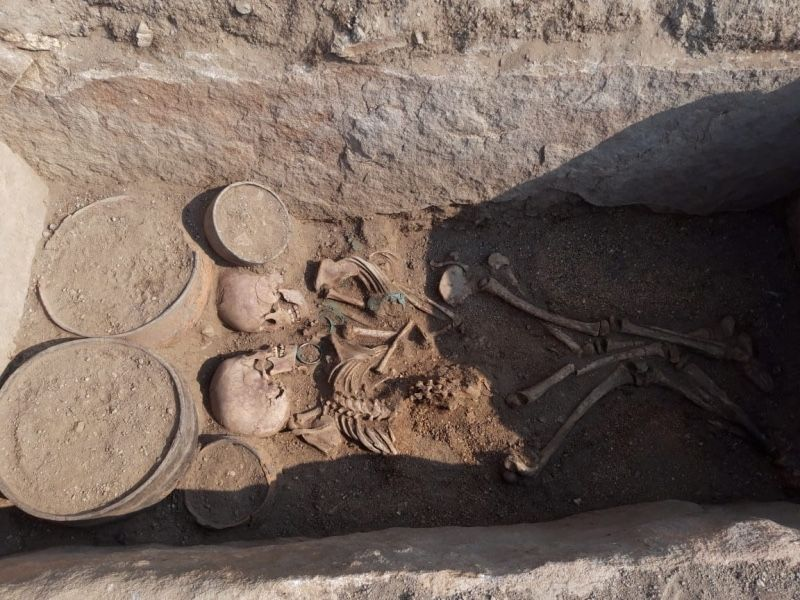 This Young Man and Woman Were Buried Face-to-Face 4,000 Years Ago in Kazakhstan